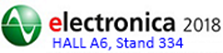 Johanson will be exhibiting at Electronica 2018