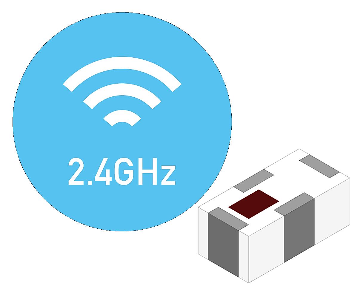 Mini 2.4GHz Low Pass Filter, EIA 0402